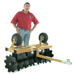 King Kutter Flip Over ATV Disc Harrow